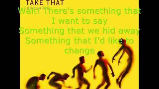 Take That-Wait with lyrics