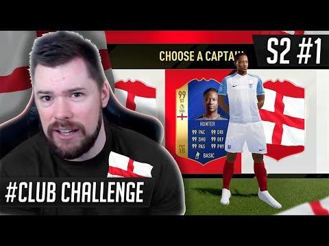 THE ENGLISH NATIONAL TEAM DRAFT!! - FIFA 17