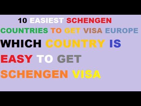 which schengen visa is easy to get from pakistan||10 Easiest Schengen countries to obtain a Visa