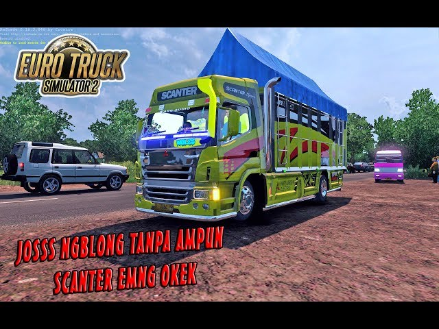 STUT JACK ! Mitsubishi Scanter Antar Cabe, Ngblong Sampe Goyang | ETS2 MOD INDONESIA
