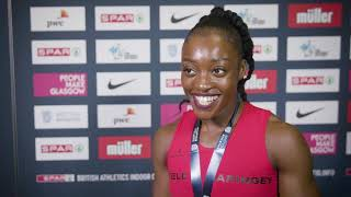 SPAR British Athletics Indoor Championships - Ama Pipi