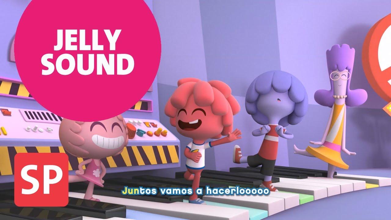 Canciones Jelly Jamm. Juntos vamos a hacerlo. Dibujos educativos para niños