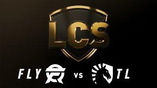 FLY vs. TL - Week 3 Day 1 | LCS Spring Split | Flyquest vs. Team Liquid (2019)