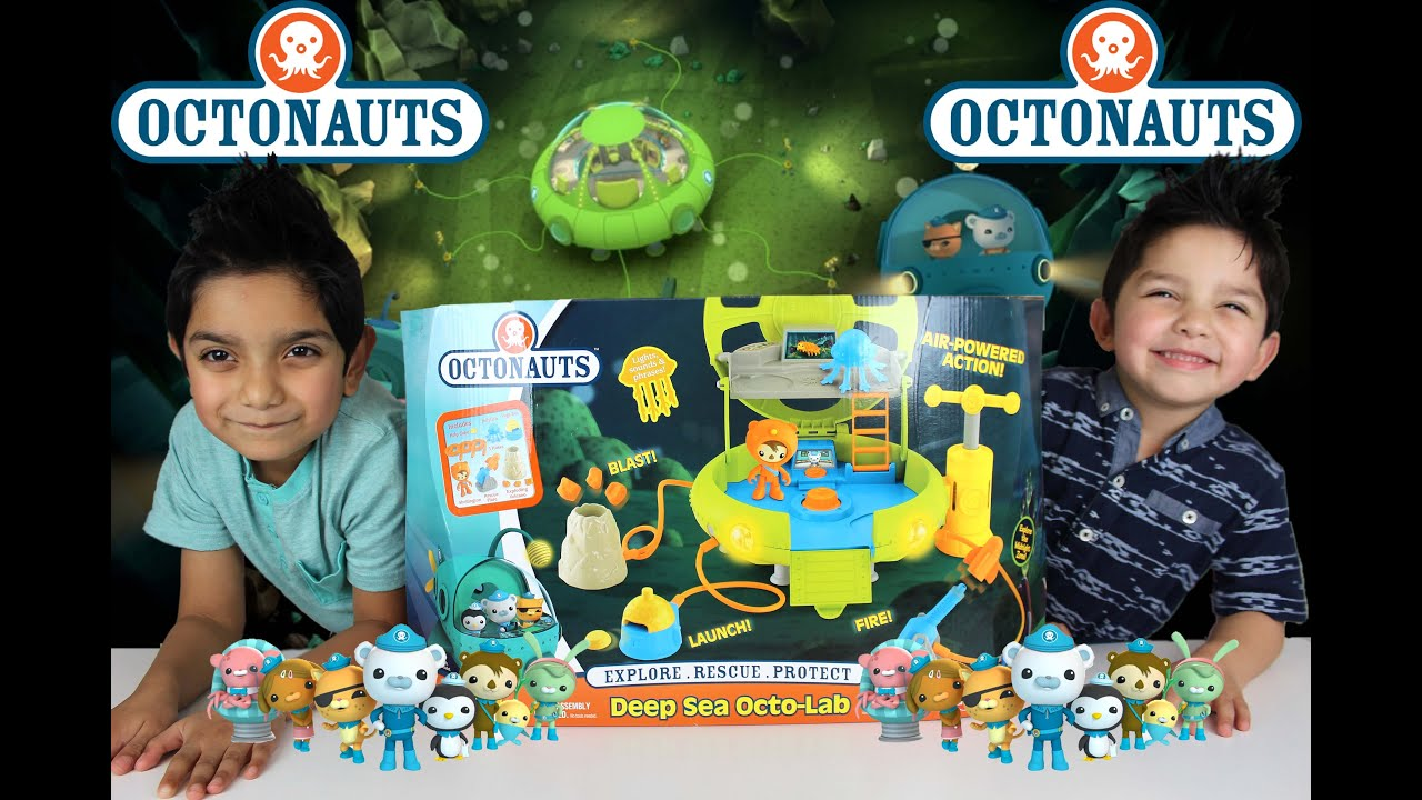 Octonauts Deep Sea Octo Lab Playset Youtube