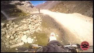 KTM chasing KTM- Spiti Motorcycle Ride