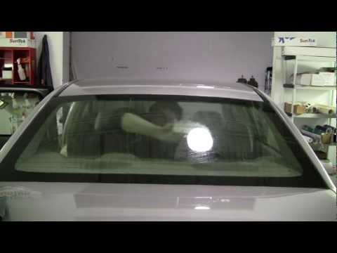 Cleaning Glass for Window Tint