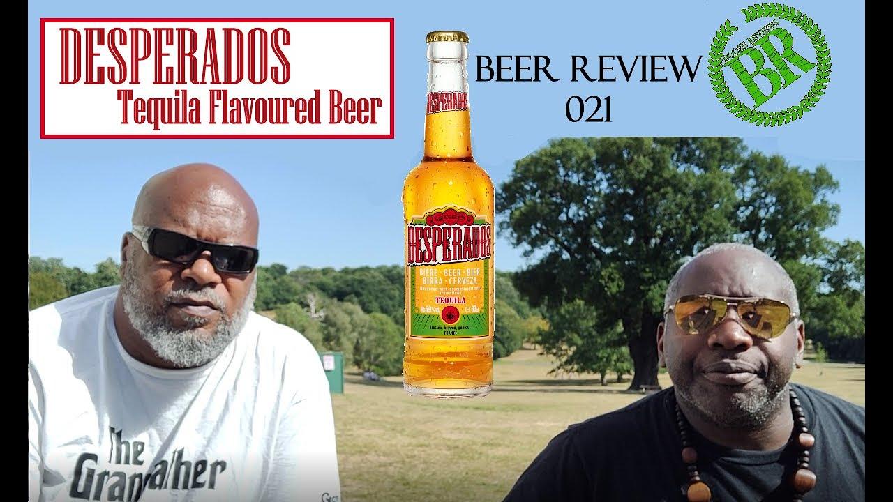 Beer Reviews 021 Desperados Tequila Flavoured Beer Youtube