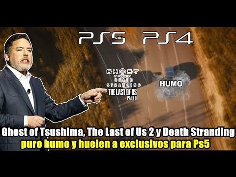 Ghost of Tsushima huela a exclusivo de Ps5 | The Last of Us 2 y Death Stranding también!