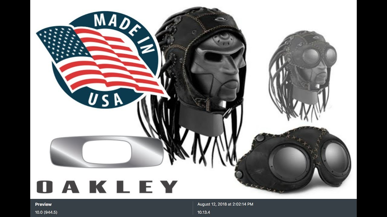 c35379171 Oakley| Para que serve a toca e o goggle da Medusa nos Estados Unidos.