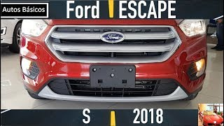 Ford Escape 2018 Version Basica