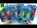 CLAYFACE! BAF DC MULTIVERSE Collect & Connect COMPLETE SET by Mattel Superman Batwoman Green Lantern