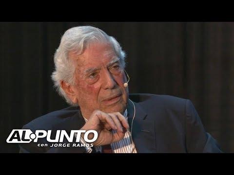 Mario Vargas Llosa Habla Con Jorge Ramos Sobre México Y La Crisis Política En Bolivia Y Chile