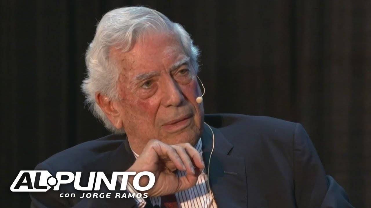 Download Mario Vargas Llosa habla con Jorge Ramos sobre México y la crisis política en Bolivia y Chile