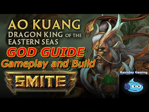 Smite God Guide: Ao Kuang Gameplay And Build - New Patch Changes