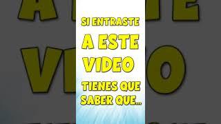 SI ENTRAS A ESTE VIDEO... #short