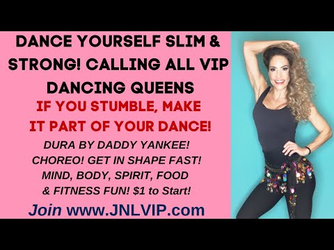 Fun Dance Cardio! by Master Trainer Jennifer Nicole Lee!Choreography to Dura, Low Impact Fitness Fun