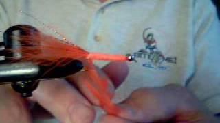 Orange Woolly Bugger
