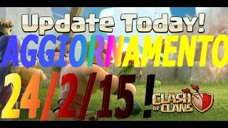 Trucchi dopo aggiornamento (Update) 24 febbraio Clash Of Clans   Exp clan war