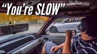 Foxbody Owner thought my Cobra was a V6...