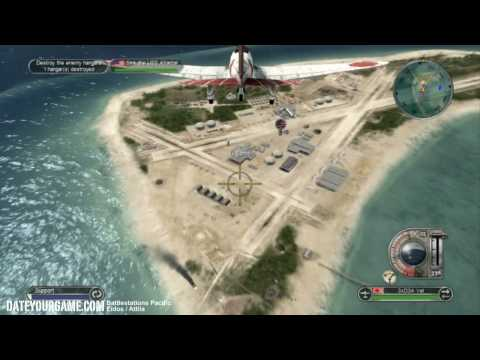 Battlestations Pacific Walkthrough 7 Invasion of Midway Gameplay HD