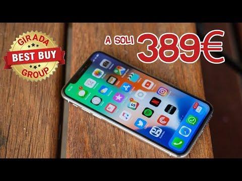 Girada iPhoneX a 389€ con Girada BestBuy Group