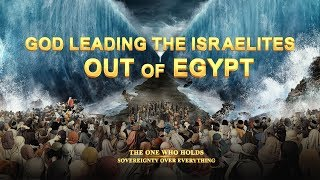 God Leading the Israelites Out of Egypt