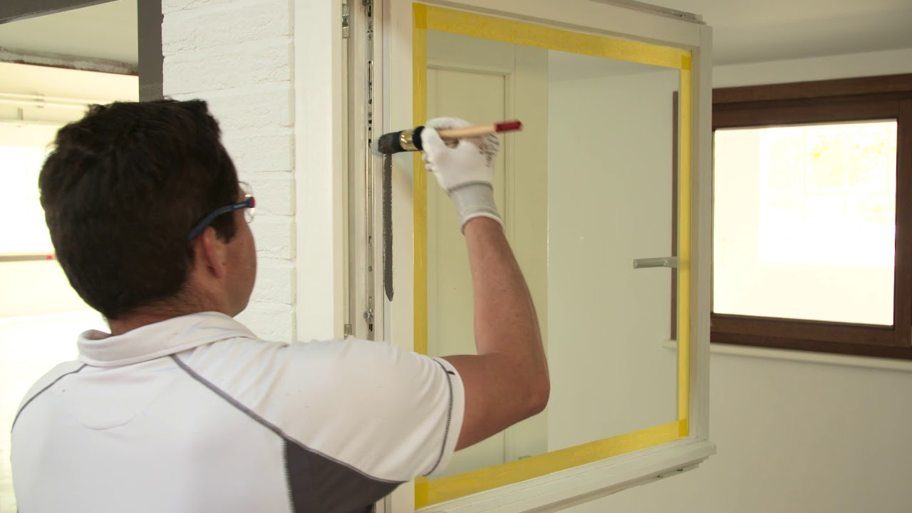 Comment Peindre Des Portes Et Fenêtres Extérieures Avec Une Laque