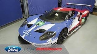Ken Block and Vaughn Gittin Jr. Get a First Look | Ford GT | Ford Performance