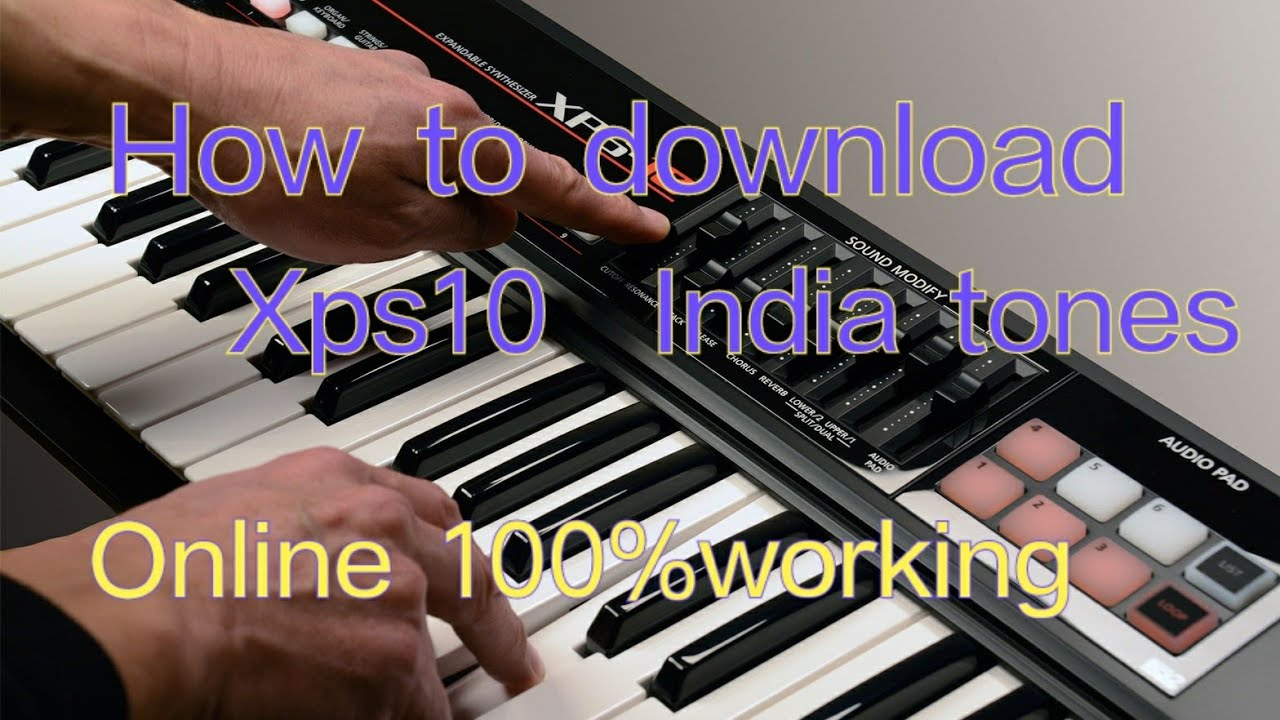 How to download xps10 Indian tones online free , all new Indian tones files  Link in discription