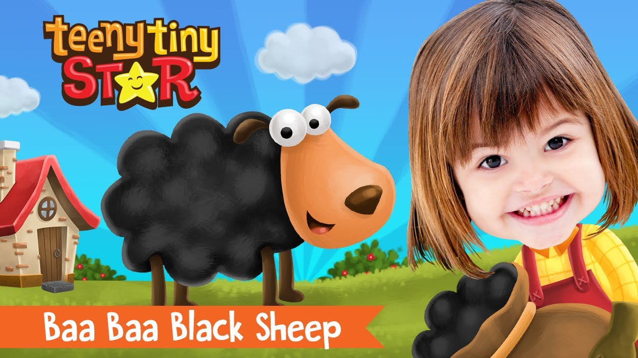 Baa Baa Black Sheep + More   Nursery Rhymes & Kids Songs   TeenyTinyStar