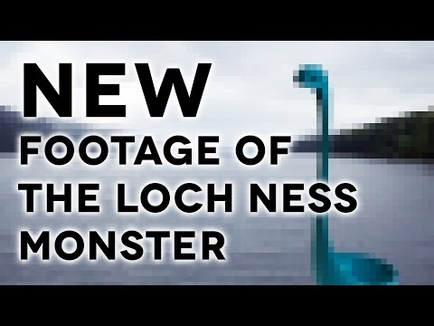 NEW FOOTAGE OF THE LOCH NESS MONSTER
