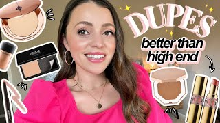 MY BEST DRUGSTORE DUPES // because sometimes drugstore really DOES do it better