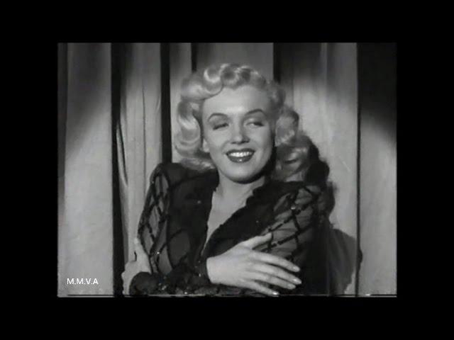 "Marilyn Monroe Song And Dance Numbers -  ""Ladies Of The Chorus"" 1948"