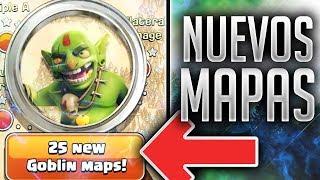 CONFIRMADOS 25 NUEVOS Mapas de GOBLINS + Opinión   Nueva Actualziación CoC 2018
