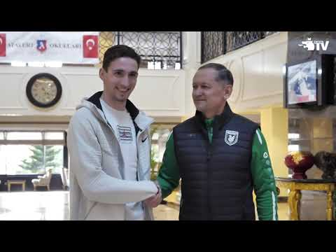 Приезд Солтмурада Бакаева в «Рубин»