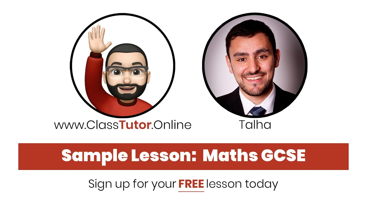 Sample GCSE Maths Lesson (Vectors) on www.ClassTutor.Online - Premium Tuition at just £8/hour