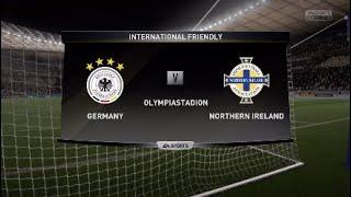 Germany vs Northern Ireland UEFA EURO 2020 qualification - gameplay
