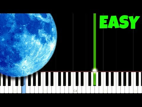Clair de Lune   Debussy Easy Piano Tutorial SynthesiaSheet Music