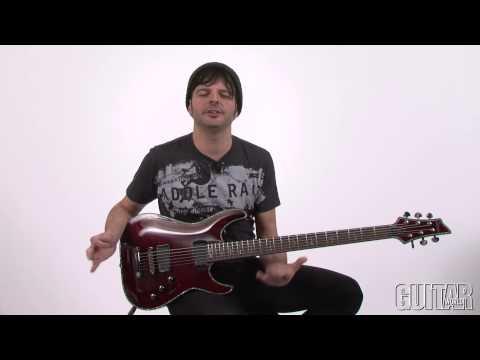 Schecter Hellraiser C VI BCH Baritone Guitar