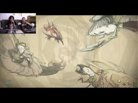 well we weren't starving...   Don't Starve Together Part 1