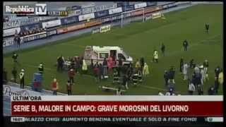 Piermario Morosini Italy Footballer Dies After Collapse On Pitch 14 April 2012 Part 1/2