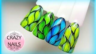 ♥Дизайн ногтей ♥Абстракция ♥Новые гель лаки♥(, 2016-09-13T11:56:38.000Z)