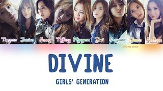 Girls' Generation (少女時代) – DIVINE Lyrics (KAN/ROM/ENG)
