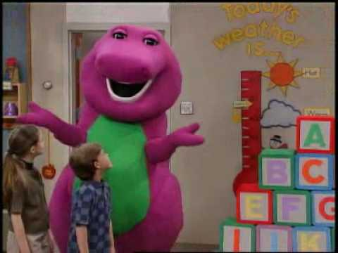 Barney y sus amigos- El abecedario Travel Video