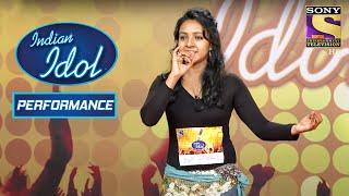 Varsha ने दिखाया 'Mayya' पे अपने Moves | Indian Idol Season 6