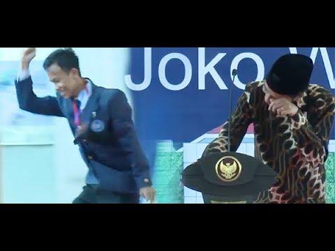 Sukses Bikin Presiden Jokowi Terpingkal, Mahasiswa Ini Langsung Dapat Sepeda