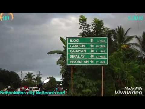Lagaw-lagaw Cauayan-Sipalay city part 1 11/30/16