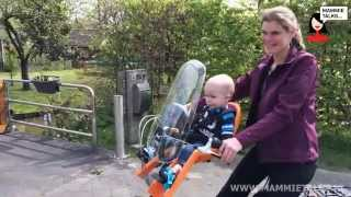 Thule RideAlong Mini fietszitje review door Mommytalks