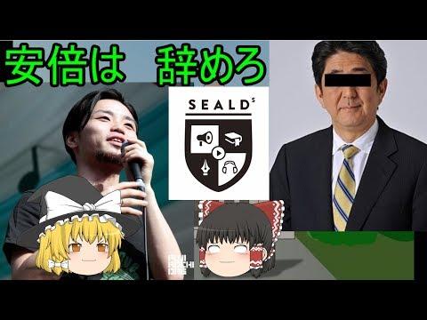 【ゆっくり解説】奥田愛基率いるSEALDsは結局何がしたかったのか