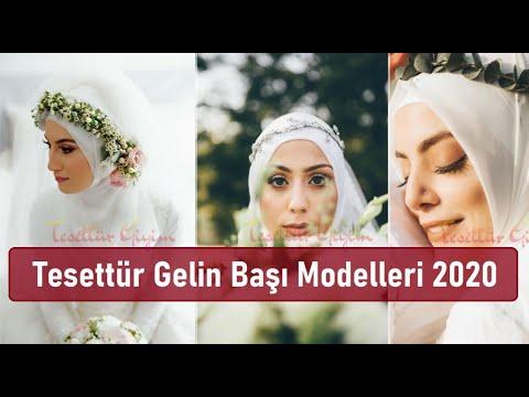 Tesettür Gelin Başı Modelleri 2020 | 30+ Model
